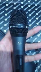 Microfone com fio KADOSH K2 NOVO