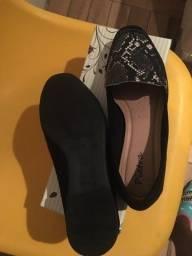 Linda! Sapato de oncinha novo *brinde