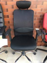 Cadeira telada tok stok presidente 650