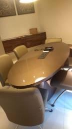Mesa + 6 cadeiras para escritório