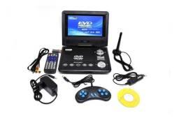 Dvd Player Portátil 7'' Tv/Dvd/Usb/Sd/Mmc Kp-D115 - Knup