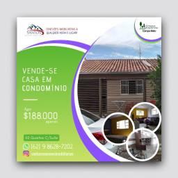 Casa Em Condomínio Reserva Campo Belo - Goiânia