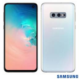 Galaxy S10E branco 128gb 6gb ram semi novo
