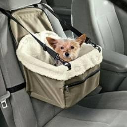 Cesta De Transporte Cães E Gatos Car Seat