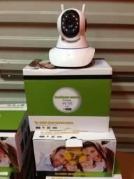 Monitoramento de rede WiFi Camera Com Sistema Remoto