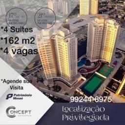 Concept - 4 suítes - 4 vagas - 162 m² - Adrianópolis - Últimas Unidades