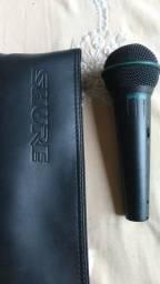 Microfone Shure Original - 150,00 - Veja Fotos