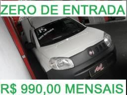 Fiat Fiorino 2015 Zero de Entrada - 2015