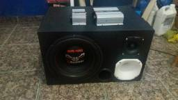 Som automotivo trio bicho papao 800rms