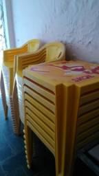 8 CJ Mesas e Cadeiras Skol Tramontina