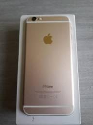 IPhone 6 com caixa e carregador leia o anúncio