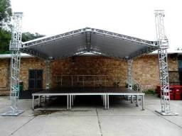 Aluguel de palco e estruturas