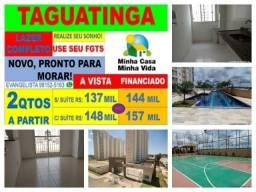 Residencial Jk e Esplanada Reserva Taguatinga Apartamentos de 2 Quartos |Lazer Completo