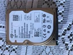HD Seagate 1tb com 8gb SSD