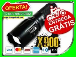 Entregamos-(sem-custos!)Lanterna X900 Militar Original Led Cree