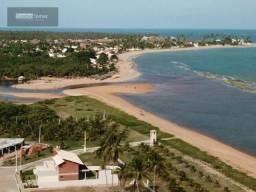 terreno em condomínio á beira mar, piscinas naturais.