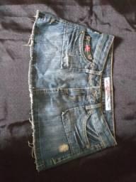 Mini saia opção tamanho 38