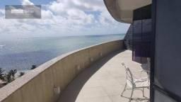 Cobertura à beira mar no melhor local da ponta verde