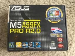 Moldura + Manuais Dvd + Caixa Acessórios Originais Placa Mãe Asus M5a99fx Pro R2.0 Novos!