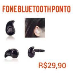 Fone bluetooth ponto