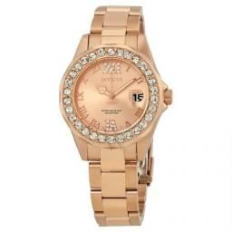 405e49f5975 Relógio Feminino Invicta - Banhado a Ouro Roza 18k - Original - Importado  USA