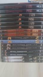 DVDs seriado 24H (coleção completa)