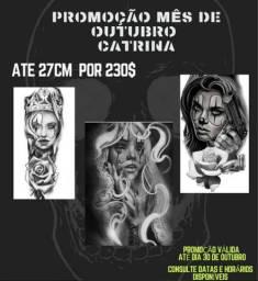 Estúdio tattoo oferece