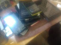 Lote fechado celular e tablete