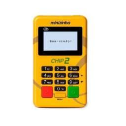 Máquina de cartão Minizinha chip 2- Não precisa de celular