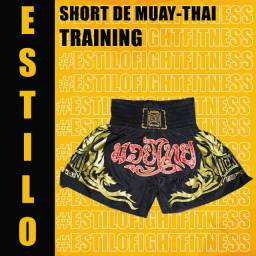 Short de muay-thai Training