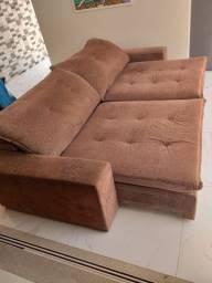 Sofá super confortável retrâtil e reclinável