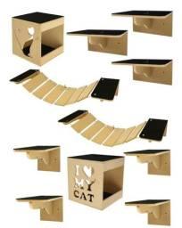 Kit nichos para gatos