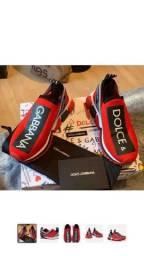 Tênis Dolce Gabbana exclusivo 34 ao 43