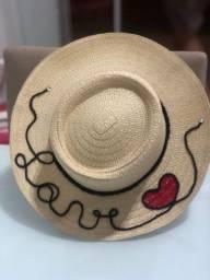 Chapéus de praia personalizados