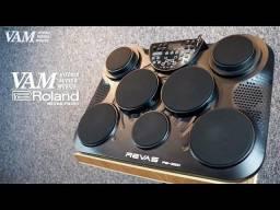 Bateria eletronica Revas By Rolland