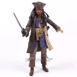 Figura de ação capitão Jack sparrow