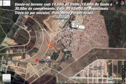 Vendo Terreno 14,5X30M em Garanhuns
