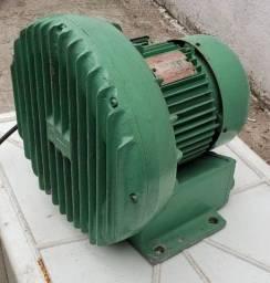 Compressor radial 2 hp ventoinha aerador