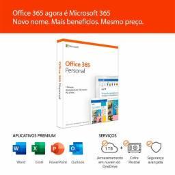 Pacote Office original + 1tera de memória na nuvem.