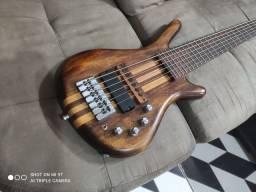 Baixo luthier Warwick top