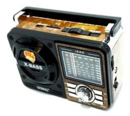 Rádio Portátil Recarregável Am/fm/sd/usb Le-610 - Lelong