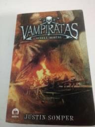 Livro Vampiratas Guerra Imortal