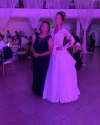 Vestido Azul Marinho para Festas, Formaturas e Casamentos