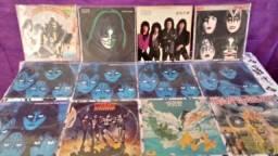 Kiss Lp vinil, disco e capa originais, diversos, em bom estado