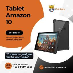 Promoção - Tablet Fire 10 Amazon Novos lacrados com 1 ano de garantia + brindes