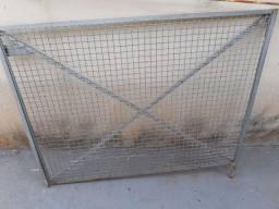 Portão vazado