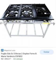 Fogão industrial Venâncio 800,00