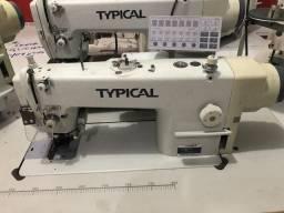 Máquina de costura reta refiladeira eletronica Typical