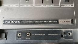 Taca fitas gravador antigo sony