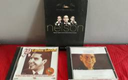 Dvd e cd Nelson Gonçalves e cd Carlos Gardel